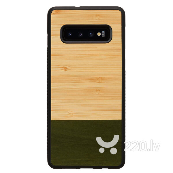 MAN&WOOD SmartPhone case Galaxy S10 Plus bamboo forest black
