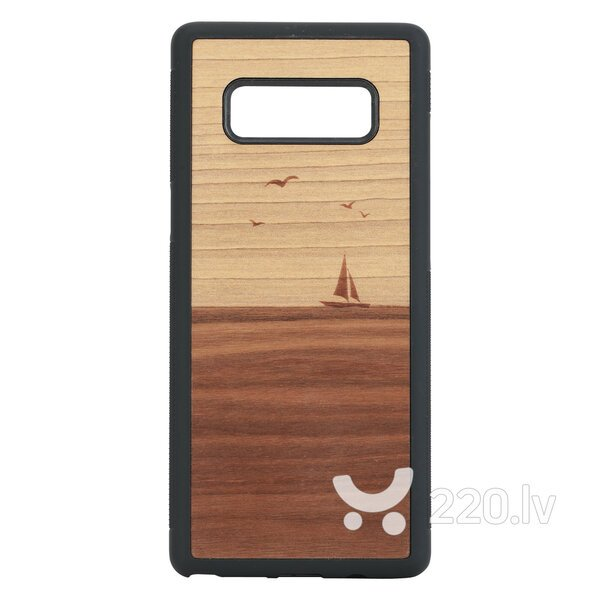 MAN&WOOD SmartPhone case Galaxy Note 8 mare black