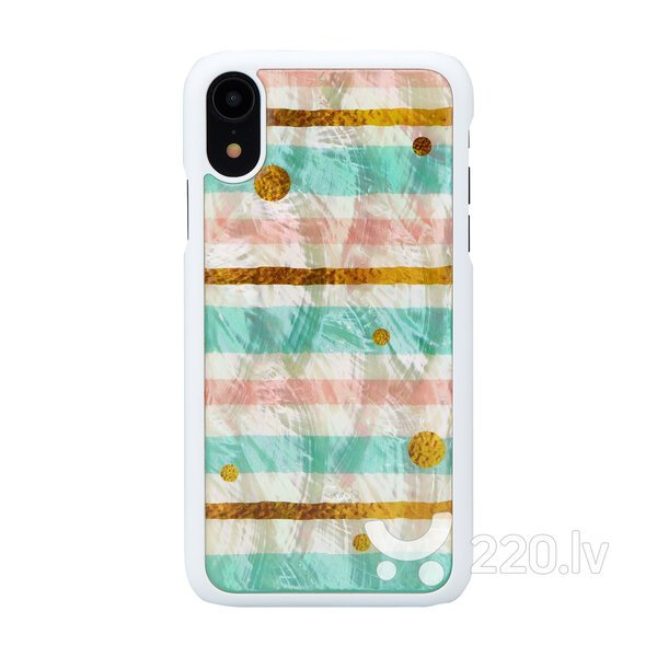 iKins SmartPhone case iPhone XR pop mint white