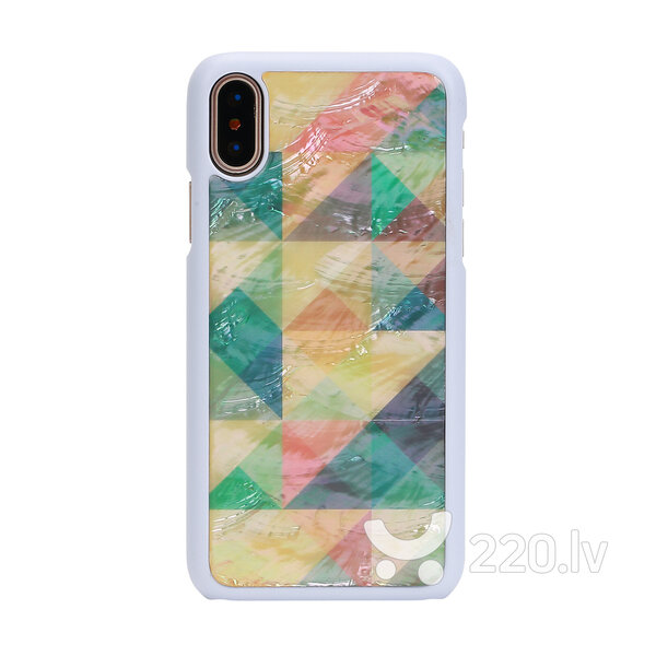iKins SmartPhone case iPhone XS/S mosaic white