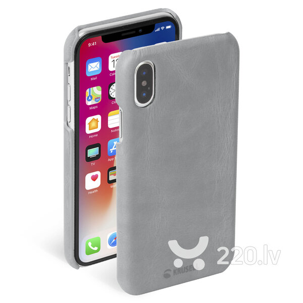 Krusell Sunne Cover Apple iPhone XS vintage grey