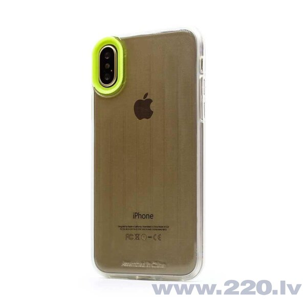 Devia Yonger Series Case iPhone XS Max (6.5) yellow cena