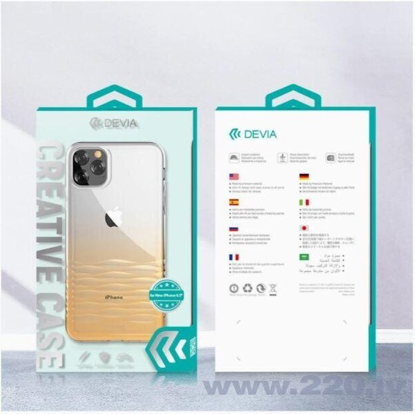 Devia Ocean series case iPhone 11 Pro gradual gold atsauksme