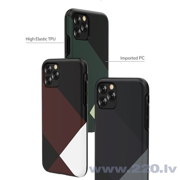 Devia Simple style grid case iPhone 11 Pro green cena
