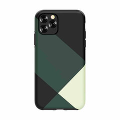 Devia Simple style grid case iPhone 11 Pro green