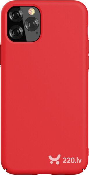 Devia Nature Series Silicone Case iPhone 11 Pro Max red