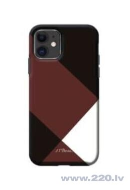Devia simple style grid case iPhone 11 red
