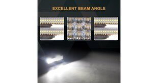 LED BAR фонарь Tri-Row, 180 Вт цена и информация | Авто принадлежности | 220.lv