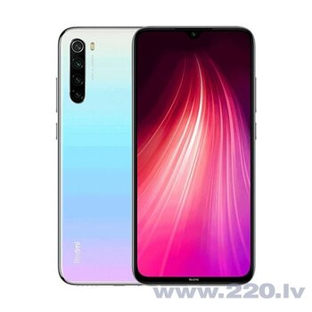 Xiaomi Redmi Note 8, Dual sim, 3/32GB, Balts