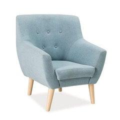 Krēsls TMS Amber, zils cena un informācija | Atpūtas krēsli | 220.lv