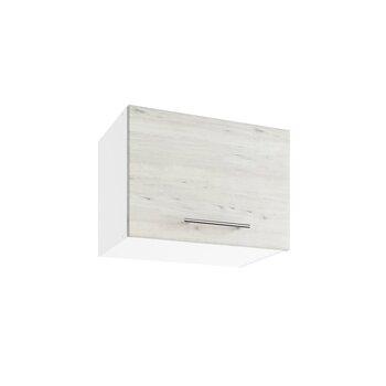 Sienas skapītis Lupus Luna Mini 1D 50 cm, gaiši brūns cena un informācija | Virtuves skapīši | 220.lv