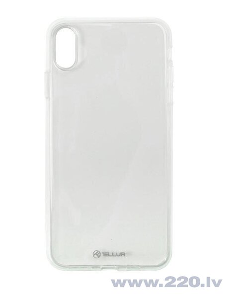 Tellur Cover Silicone for iPhone XS MAX transparent