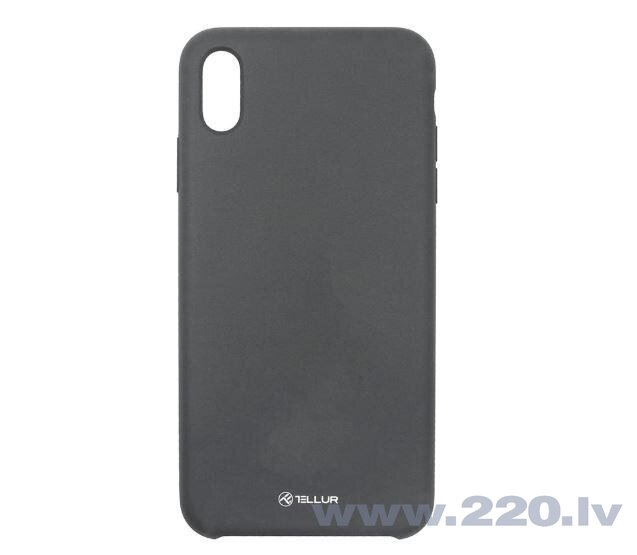 Tellur Cover Liquide Silicone for iPhone XS MAX black