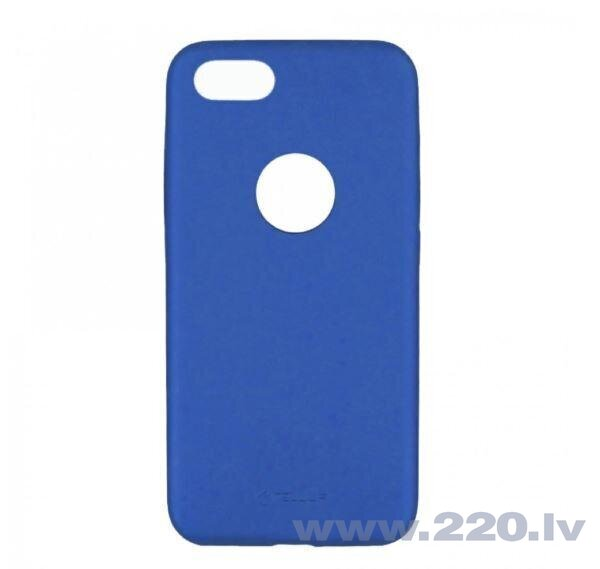 Tellur Cover Slim Synthetic Leather for iPhone 8 blue