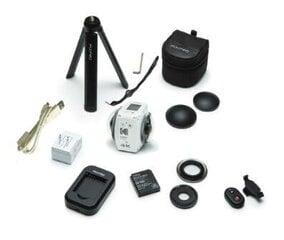 Kodak VR360 4K White cena un informācija | Videokameras | 220.lv