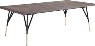 Kafijas galdiņš Notio Living Campo, pelēks cena un informācija | Žurnālgaldiņi | 220.lv
