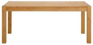 Pusdienu galds Notio Living Monique 200, gaiši brūns cena un informācija | Virtuves galdi, ēdamgaldi | 220.lv