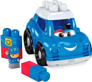 Policijas automašīna Mega Bloks®, GCX08 cena un informācija | Rotaļlietas zīdaiņiem | 220.lv
