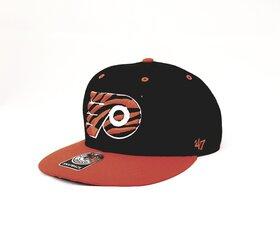 BRAND 47 Philadelphia Flyers Snapback Vasaras Cepure, Melna/Orandža cena un informācija | Vīriešu cepures, šalles, cimdi | 220.lv