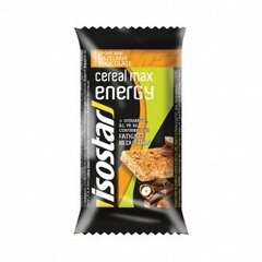 Батончик Isostar Cereal Max Energy Hazelnut Chocolate, 55 г цена и информация | Батончики | 220.lv