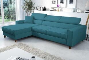 Stūra dīvāns Selsey Modran, gaiši zils cena un informācija | Stūra dīvāni | 220.lv