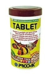Prodac Tablet tabletes grunts zivīm 1200ml 750g cena un informācija | Zivju barība | 220.lv