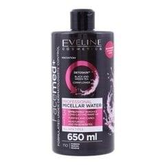 Micelārais ūdens Eveline Cosmetics Facemed+ 3in1 650 ml cena un informācija | Micelārais ūdens Eveline Cosmetics Facemed+ 3in1 650 ml | 220.lv