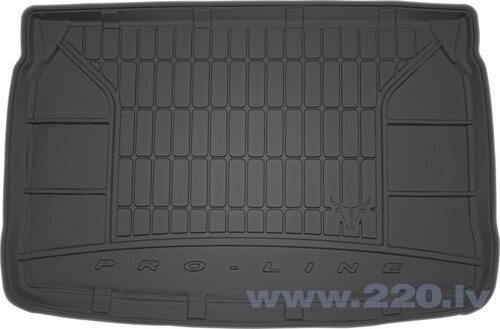 Резиновый коврик для багажника Proline PEUGEOT 207 HATCHBACK 5D 2006-2012 цена и информация | Коврики для багажника по авто моделям | 220.lv