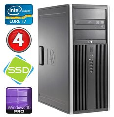 HP 8100 Elite MT i7-860 4GB 120SSD NVS450 DVD WIN10Pro