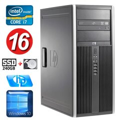 HP 8100 Elite MT i7-860 16GB 240SSD+250GB NVS450 DVD WIN10 cena un informācija | HP 8100 Elite MT i7-860 16GB 240SSD+250GB NVS450 DVD WIN10 | 220.lv