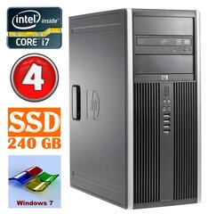 HP 8100 Elite MT i7-860 4GB 240SSD NVS450 DVD WIN7Pro cena un informācija | HP 8100 Elite MT i7-860 4GB 240SSD NVS450 DVD WIN7Pro | 220.lv