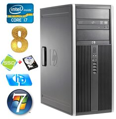 HP 8100 Elite MT i7-860 8GB 120SSD+500GB NVS450 DVD WIN7Pro cena un informācija | HP 8100 Elite MT i7-860 8GB 120SSD+500GB NVS450 DVD WIN7Pro | 220.lv