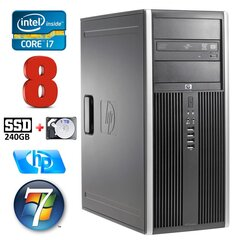 HP 8100 Elite MT i7-860 8GB 240SSD+1TB NVS450 DVD WIN7Pro cena un informācija | HP 8100 Elite MT i7-860 8GB 240SSD+1TB NVS450 DVD WIN7Pro | 220.lv