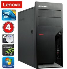 Lenovo M58e MT E7500 4GB 1TB GT710 2GB Win7Pro