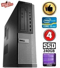 DELL 790 DT i5-2500 4GB 240SSD DVDRW WIN10Pro