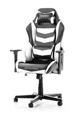 Spēļu krēsls DXRacer Drifting Series D166-NW, balts/melns cena un informācija | Biroja krēsli | 220.lv