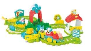 Lokomotīve ar fermas dzīvniekiem Clementoni Baby, 17299 cena un informācija | Rotaļlietas zīdaiņiem | 220.lv