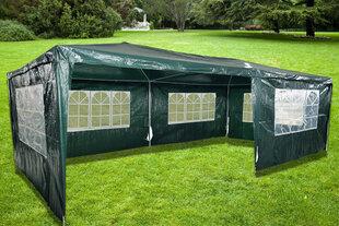 5 sienu lapene NORE Grand, 600x300 cm, zaļa cena un informācija | Dārza nojumes un lapenes | 220.lv