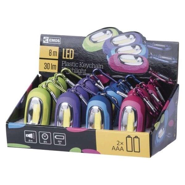 Lukturis piekariņš 1x COB LED, 2xAAA (baterijas jau ir iekšpusē)