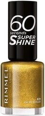 Nagu laka Rimmel London 60 Seconds Super Shine 8 ml