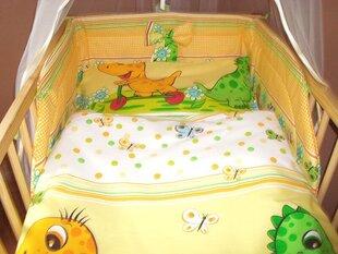 Bērnu gultas veļas komplekts Dino, 100x135 cm, 2 daļas cena un informācija | Bērnu gultas veļa | 220.lv