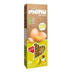 Comfy Menu barība ar olām eksotiskiem putniem, 90 g kaina ir informacija | Comfy Menu barība ar olām eksotiskiem putniem, 90 g | 220.lv