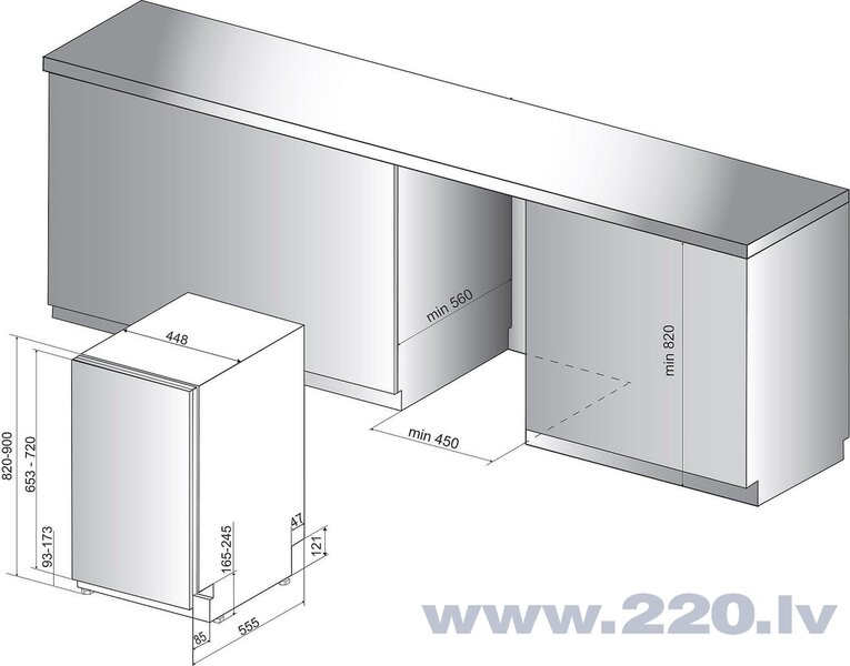 HOTPOINT HSIO 3O23 WFE