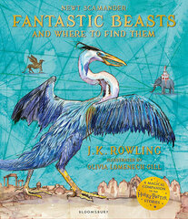 Fantastic Beasts and Where to Find Them : Illustrated Edition цена и информация | Fantastic Beasts and Where to Find Them : Illustrated Edition | 220.lv