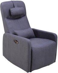 Krēsls reglaineris Dr Max by ARIMAX DM04002, zilgans cena un informācija | Krēsli viesistabai | 220.lv