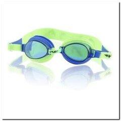 Peldēšanas brilles bērniem SPURT 1122 AF 02, zilas/zaļas cena un informācija | Peldēšanas brilles | 220.lv