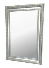 Spogulis Avila 90x120 cm, sudrabains cena un informācija | Spoguļi | 220.lv