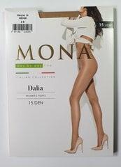 Sieviešu zeķbikses MONA Dalia 15 Beige cena un informācija | Sieviešu zeķes, zeķubikses | 220.lv