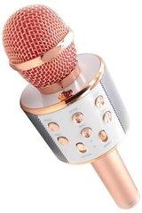 Mikrofons Ksong Karaoke, Sarkans cena un informācija | Mikrofons Ksong Karaoke, Sarkans | 220.lv