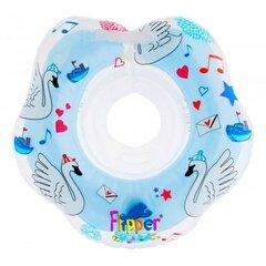 Muzikālais peldēšanas riņķis mazuļiem ap kaklu Roxy Kids, Gulbju ezers Blue cena un informācija | Muzikālais peldēšanas riņķis mazuļiem ap kaklu Roxy Kids, Gulbju ezers Blue | 220.lv